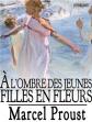 Une des couvertures d'édition d'À l'ombre des jeunes filles en fleurs.