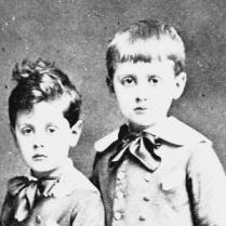 Marcel Proust et son petit frère Robert.