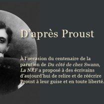 D'après Proust, ouvrage collectif (Forest, dir.).