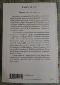 François Bon, Proust est une fiction